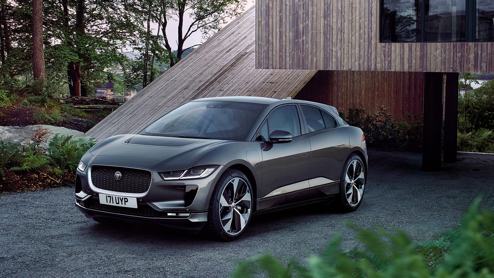 Jaguar I-PACE latauskampanja