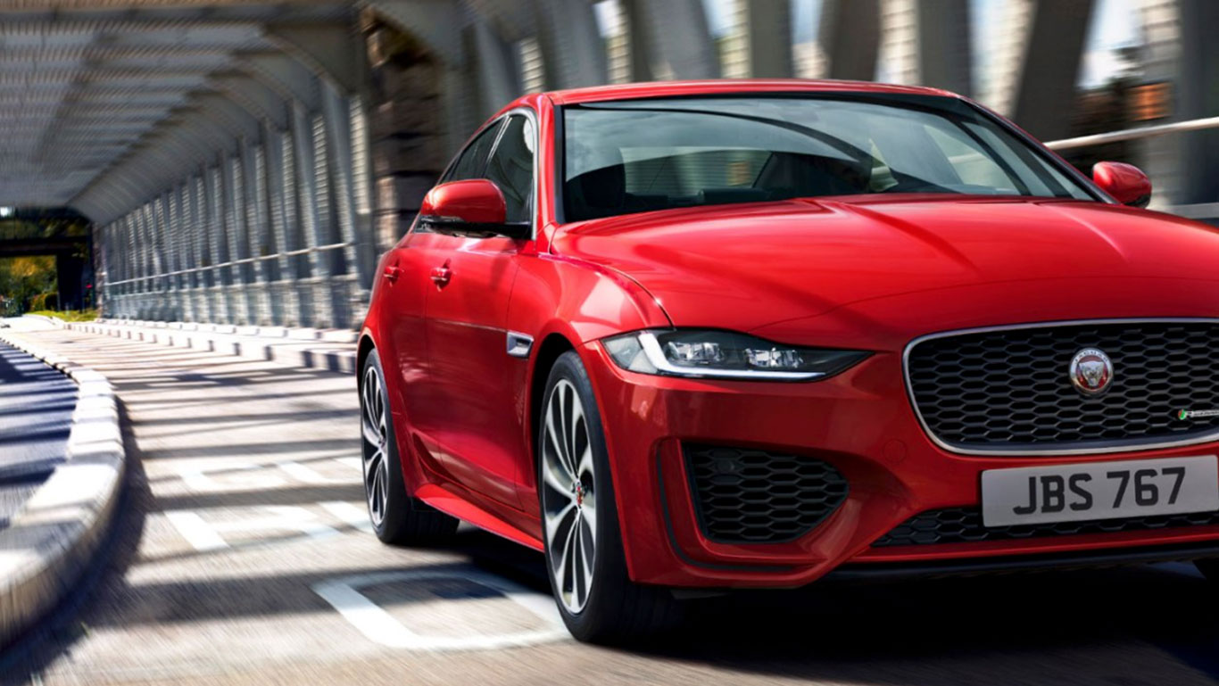 Uusi Jaguar XE