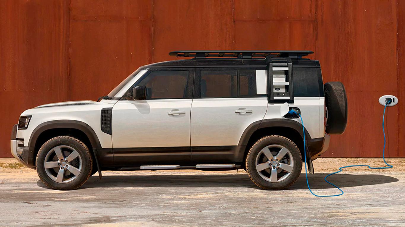 Uusi Land Rover Defender